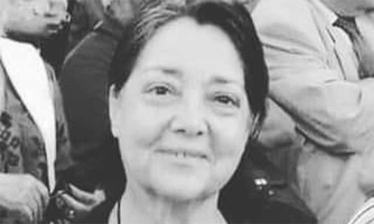 Nota de pesar pelo falecimento de Maria de Fátima Lopes