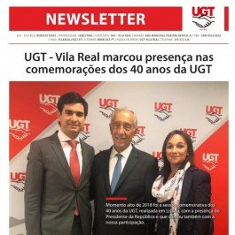 Newsletter N. 1 da UGT-Vila Real