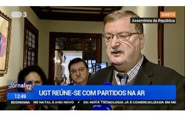 UGT reúne com GP do CDS-PP