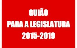 Guião para a Legislatura 2015-2019